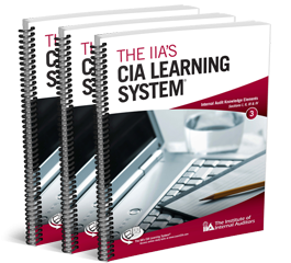 IIA CIA Learning System study materials