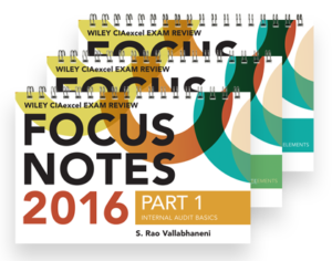 Wiley Focus Notes study materials