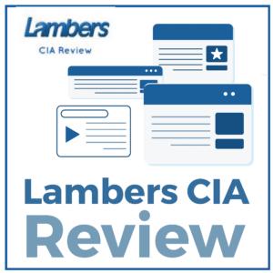 Lambers CIA Review